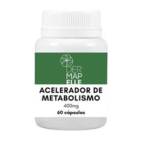 Produto Acelerador de Metabolismo 400mg 60 cápsulas