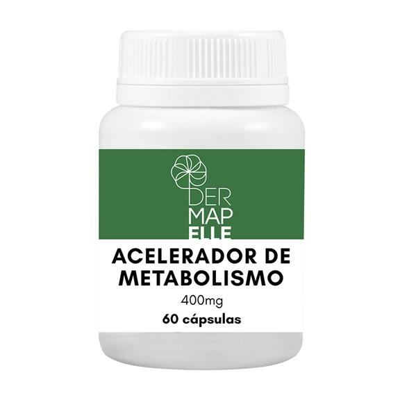 Acelerador de Metabolismo 400mg 60 cápsulas