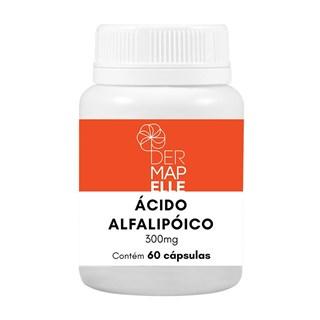 Ácido Alfa Lipoico 300mg 60 Cápsulas