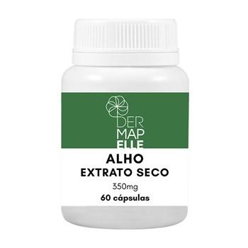 Alho Extrato Seco 350mg 60 Cápsulas