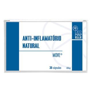 Anti Inflamatório Natural 100mg 30 Cápsulas