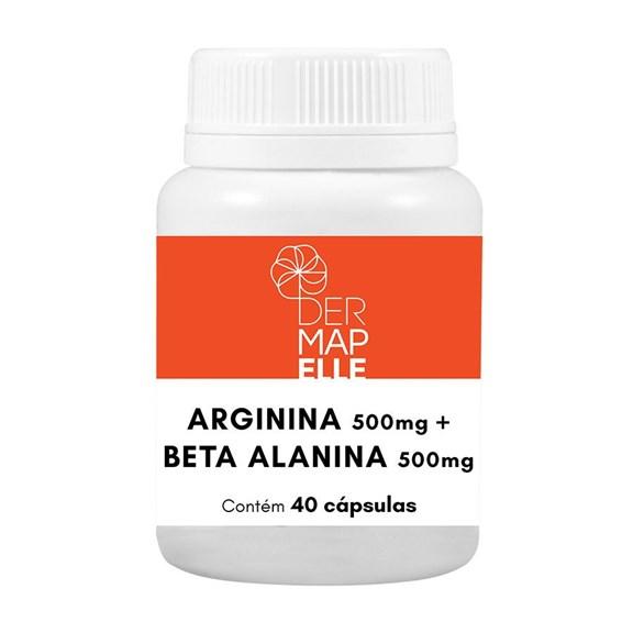 Arginina 500mg + Beta Alanina 500mg