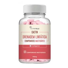 Produto Cactin Drenagem Linfática 60 Comprimidos Mastigáveis