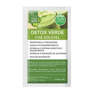 Chá Solúvel Detox Verde