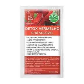 Chá Solúvel Detox Vermelho