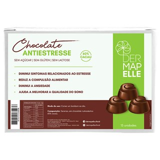 Chocolate Anti Estresse - Zembrin e 5HTP 15un
