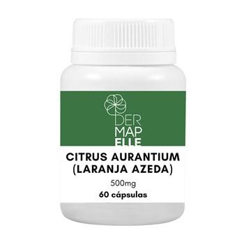 Citrus Aurantium (Laranja Azeda) 500mg 60 Cápsulas