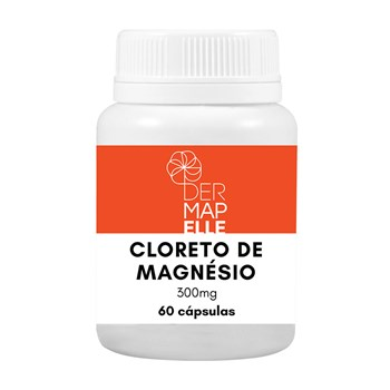 Cloreto de Magnésio 300mg 60 Cápsulas
