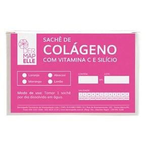 Colágeno com Vitamina C e Silício 15 sachês