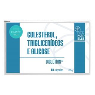 Colesterol, Triglicerídeos e Glicose (Diglothin®) 150mg 60 Cápsulas