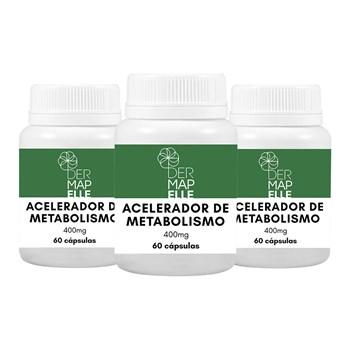 COMBO | Acelerador de Metabolismo 60 Cápsulas (3 Unidades)