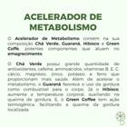 COMBO   Acelerador de Metabolismo 60 Cápsulas (3 Unidades)