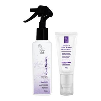 COMBO | Água Thermal Lavanda 200ml + Emulsão Facial Intense com Vitamina C 30g