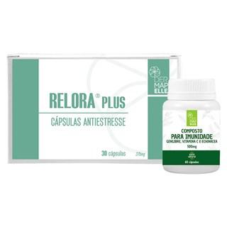 COMBO | Antiestresse Relora Plus + Composto para a Imunidade