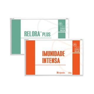 COMBO | Antiestresse Relora Plus + Imunidade Intensa