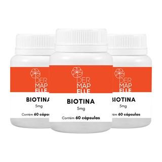 COMBO| Biotina 5mg (3 Unidades)