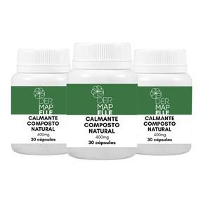 COMBO| Calmante Composto Natural 400mg (3 Unidades)