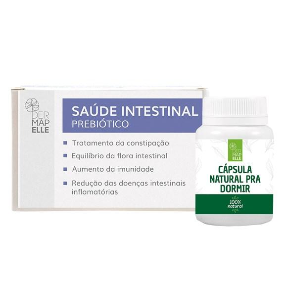 COMBO   Composto com Triptofano para Dormir + Prebiótico Saúde Intestinal