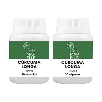 COMBO Cúrcuma Longa 450mg 30 cápsulas (2 unidades)
