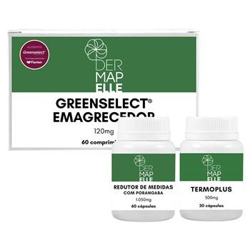 COMBO   Emagrecedor Greenselect® Phytosome 120mg + Termoplus 500mg + Redutor de Medidas 1100mg