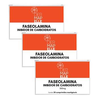 COMBO | Faseolamina Inibidor de Carboidratos 300mg (3 Unidades)