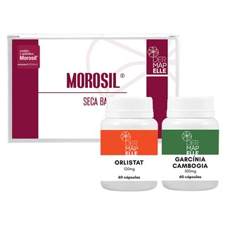 COMBO| Garcínia Cambogia + Morosil® Seca Barriga + Orlistat