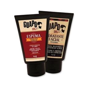 COMBO | Hidratante Facial Pós-Barba + Espuma de Barbear - Guapo