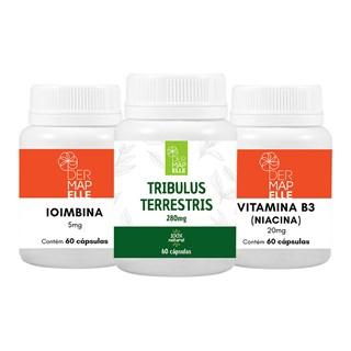 COMBO| Ioimbina + Tribullus Terrestris + Vitamina B3 (Niacina)