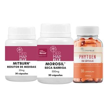 COMBO Mitburn® 50mg + Morosil® 500mg + Phytgen 200mg
