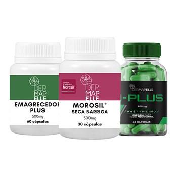 COMBO| Morosil® Seca Barriga + I-Plus + Emagrecedor Plus