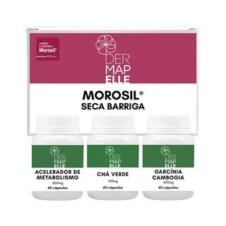 Combo Morosil + Acelerador de Metabolismo + Chá Verde + Garcínia Cambogia