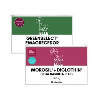 COMBO | Morosil com Diglothin Seca Barriga Plus + Greenselect® Phytosome