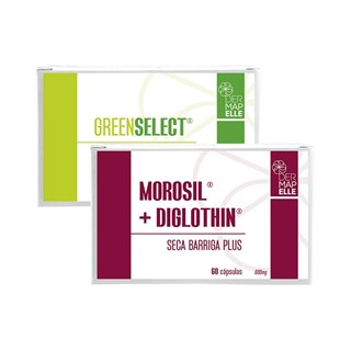 COMBO | Morosil com Diglothin Seca Barriga Plus + Greenselect® Phytosome