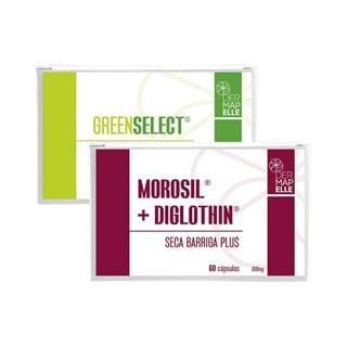 COMBO   Morosil com Diglothin Seca Barriga Plus + Greenselect® Phytosome