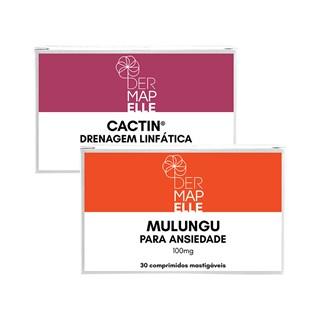 COMBO   Mulungu Balas para Ansiedade + Cactin Drenagem Linfática