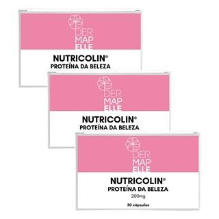 COMBO| Nutricolin - Proteína da Beleza 30 Cápsulas (3 Unidades)