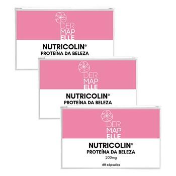 COMBO| Nutricolin - Proteína da Beleza 60 Cápsulas (3 Unidades)