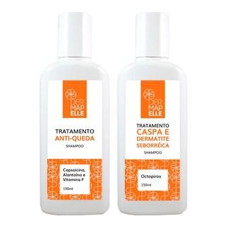 COMBO | Octopirox Shampoo 150ml + Shampoo Anti-Queda Capsaicina 150ml