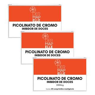 COMBO| Picolinato de Cromo - Inibidor de Doces (3 Unidades)