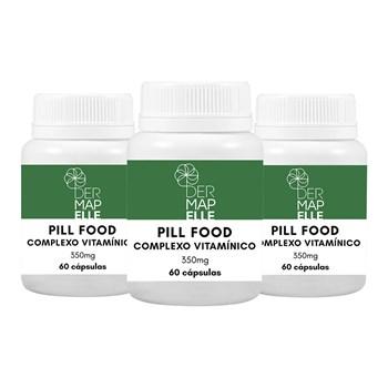 COMBO | Pill Food Complexo Vitamínico (3 Unidades)