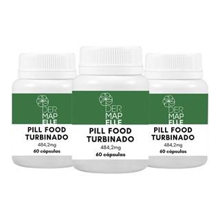 COMBO  Pill Food Turbinado (3 Unidades)