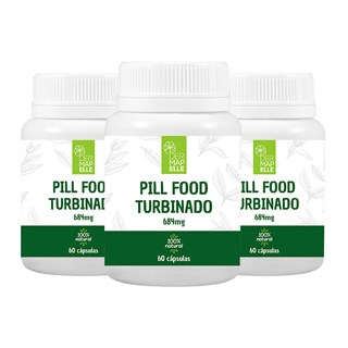 COMBO| Pill Food Turbinado (3 Unidades)