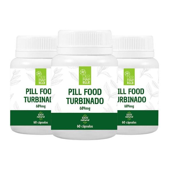 COMBO| Pill Food Turbinado (3 Unidades)