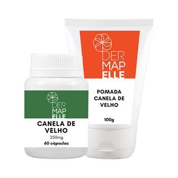 COMBO | Pomada Massageadora Canela de Velho 100g + Canela de Velho 250mg 60 Cápsulas