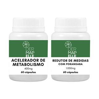 COMBO | Redutor de Medidas com Porangaba + Acelerador de Metabolismo