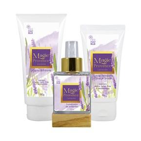 COMBO | Sabonete Líquido + Creme Hidratante + Creme para Mãos e Braços + Perfume para Ambiente