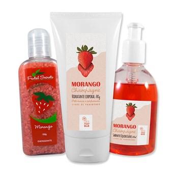 COMBO | Sal de Banho + Hidratante Corporal + Sabonete Líquido
