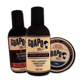 COMBO | Shampoo + Condicionador + Pomada Efeito Matte