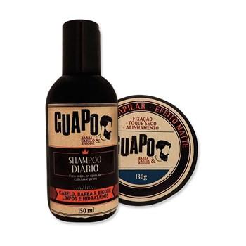 COMBO | Shampoo Diário 150ml + Pomada Efeito Matte 130g
