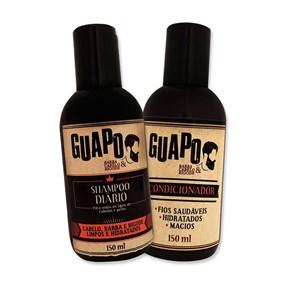 COMBO | Shampoo Diário Guapo 150ml + Condicionador Guapo 150ml